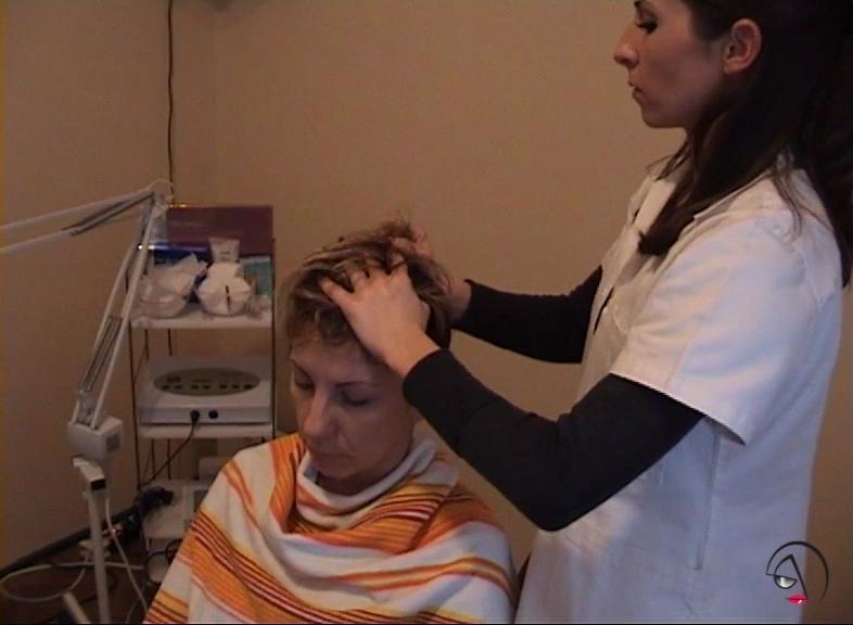 ayurveda masaža glave
