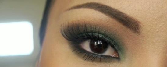 jednostavan-zeleni-smokey-eyes