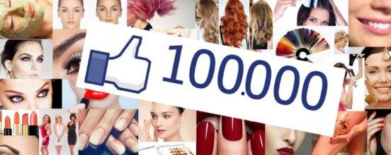 lepotica facebook stranica 100.000 lajkova