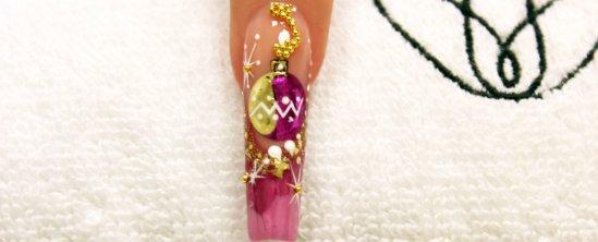 novogodisnji nokti