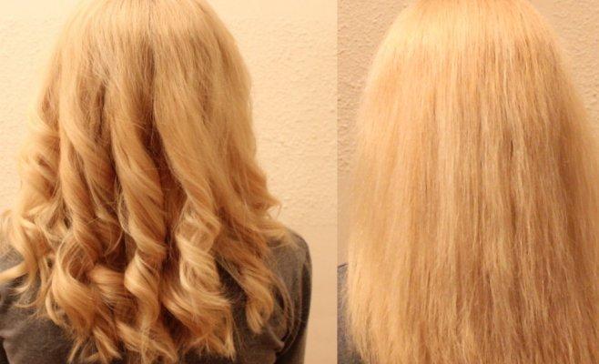uvijanje kose uz pomoc prese