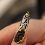 nail art crtanje po noktima