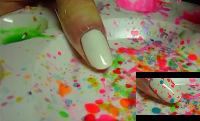 najjednostavniji nail art
