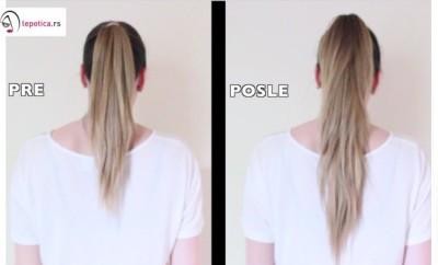 produzite kosu u repu