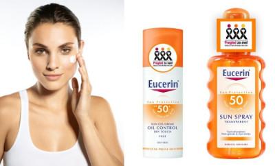 krema za lice i losion za telo eucerin