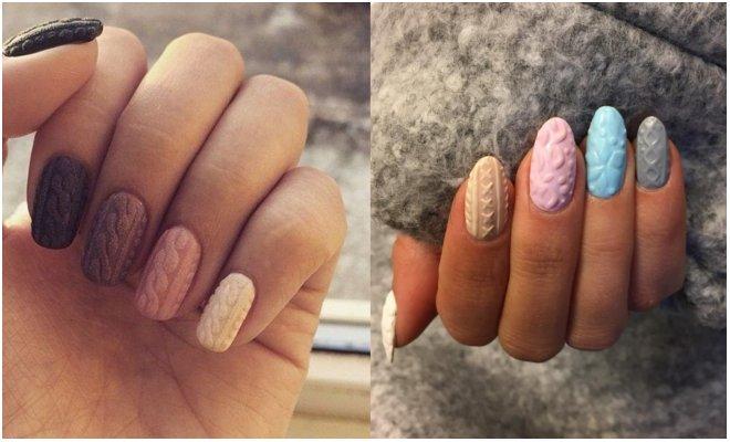 dzemper nail art