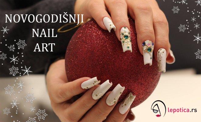 novogodisnji nail dizajn