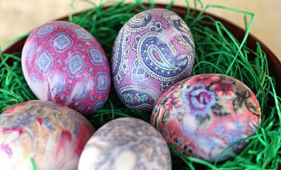 farbanje uskrsnjih jaja kravatom