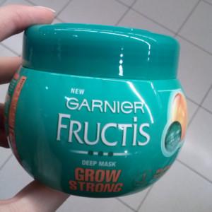 maska nza kosu garnier grow strong