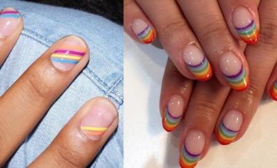rainbow manikir