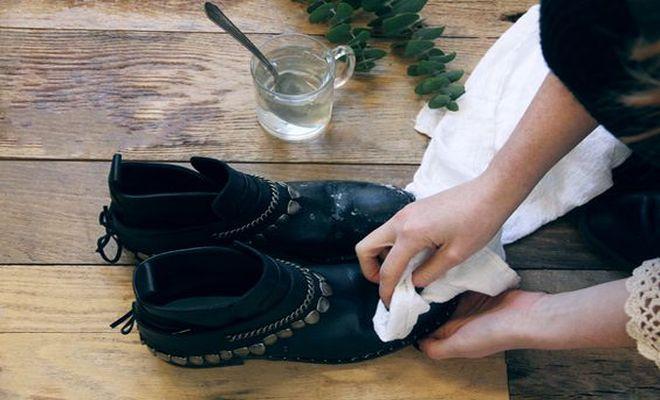 fleke od soli sa obuće
