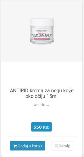 antirid krema