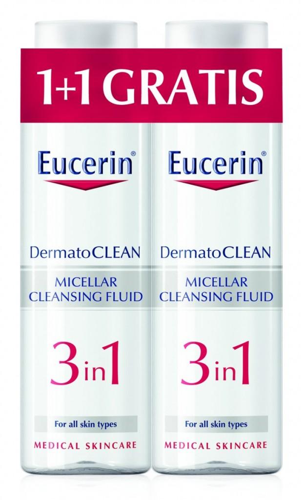 eucerin micelarni fluid 400 ml