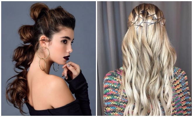 Hairstyle For Disco Party