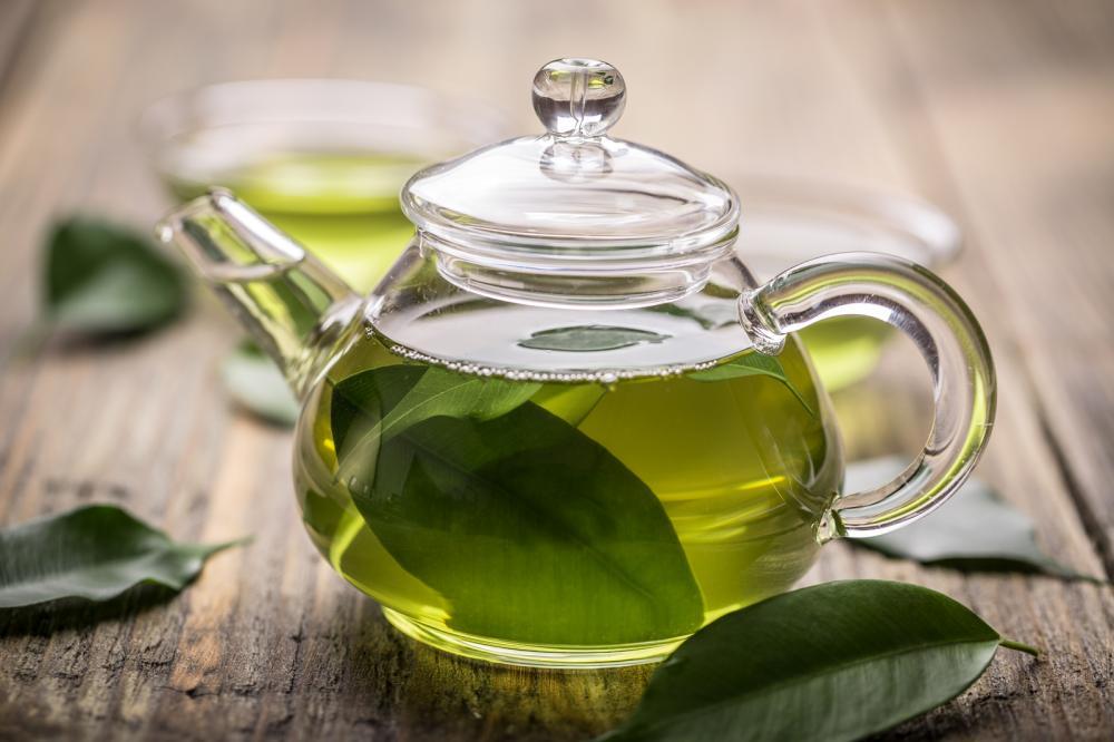 zeleni čaj za kosu