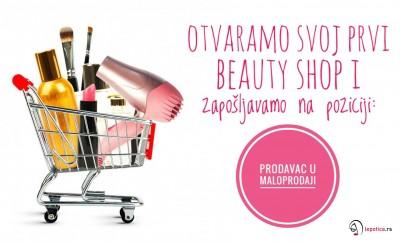 lepotica beauty shop oglas za posao