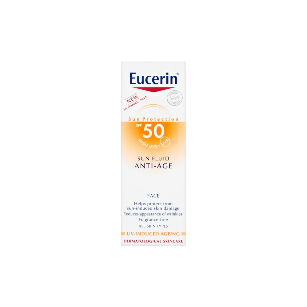 sun fluid eucerin