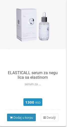 serum sa elastinom