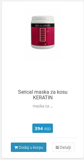 keratin maska serical