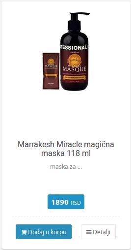 marrakesh maska