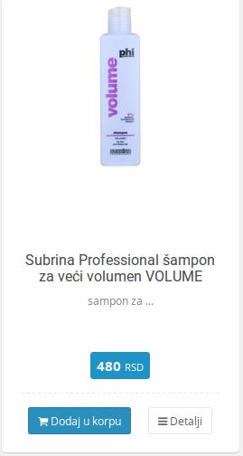 sampon za volumen