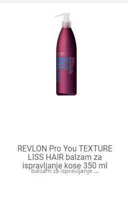 revlon liss hair