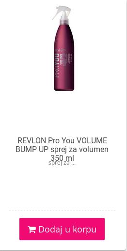 revlon bump up volumen