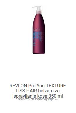 revlon liss hair balzam