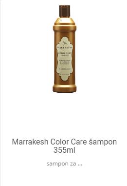 marrakesh šampon za farbanu kosu