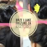 frizure za maturu