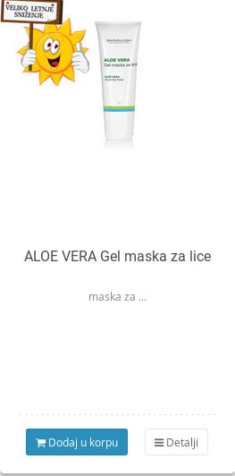 gel maska