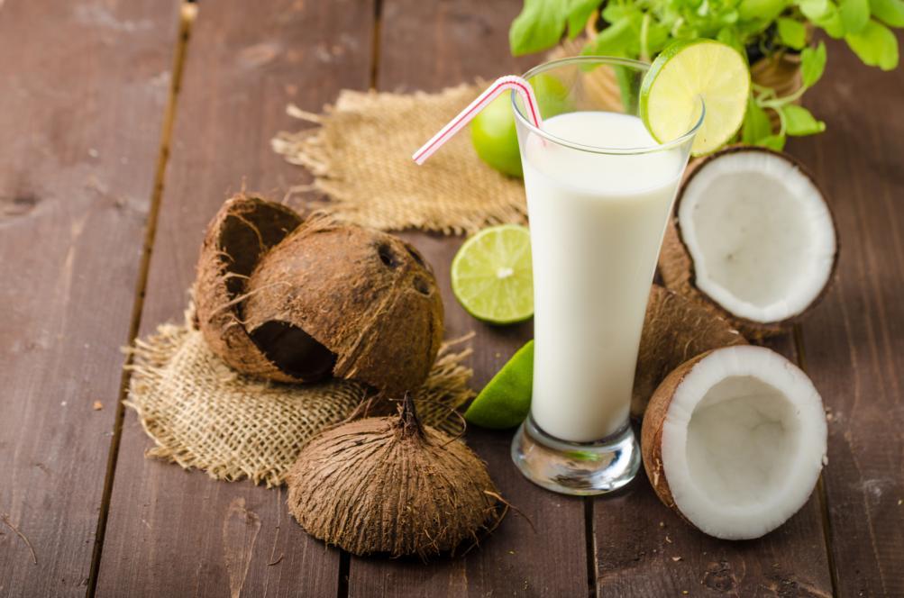 kefir kokos voda