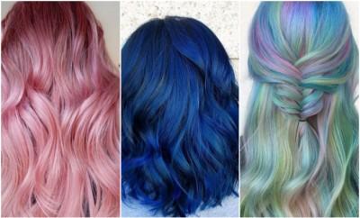 neobične boje kose