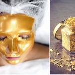 zlato u kozmetici