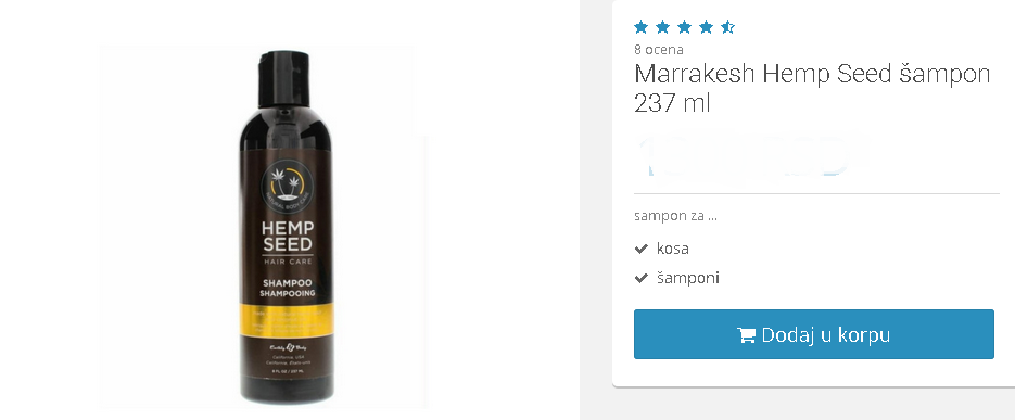 šampon bez sulfata