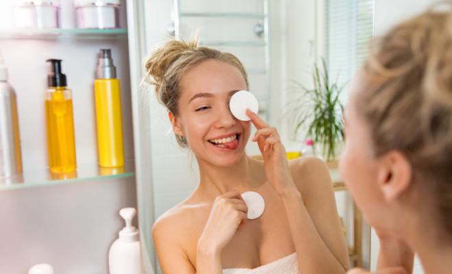 čišćenje kože tinejdžera