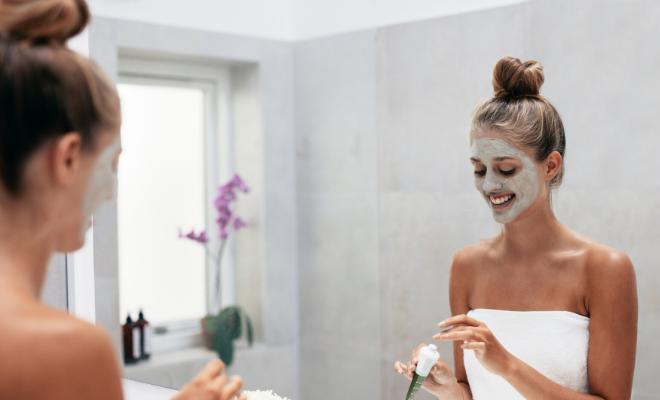 glinena maska za lice
