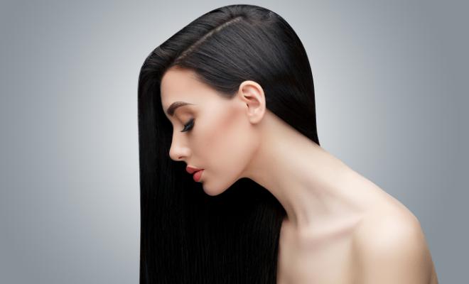 tamna ravna kosa