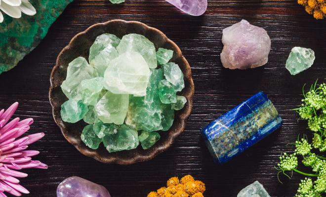 isceljujući kristali