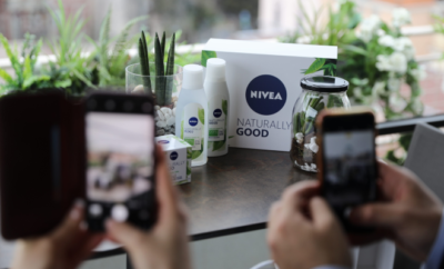 nivea naturally good linija
