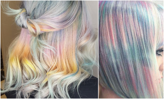 holographic hair trend