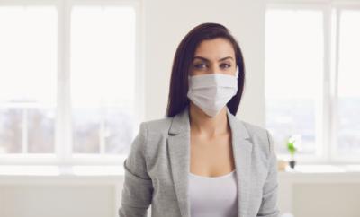 zaštitna maska i koža