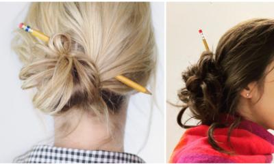 pencil bun