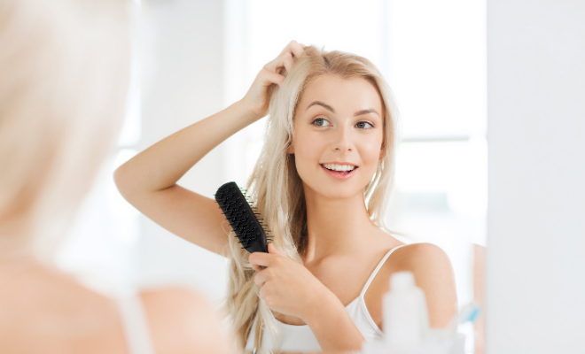 češljanje tanke kose