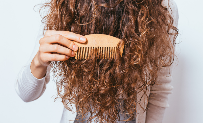 češljanje kovrdžave kose
