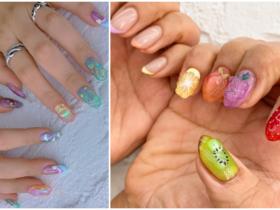 3 D jelly nokti