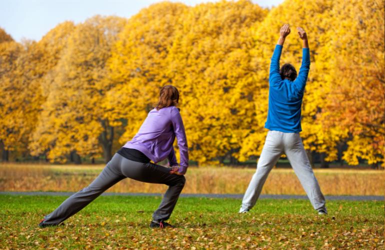 jesenje vežbanje